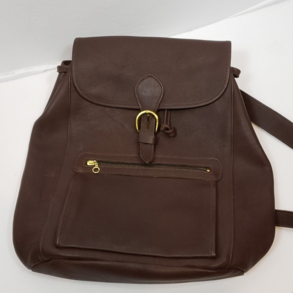 Laura USA Natural Leather Backpack Purse